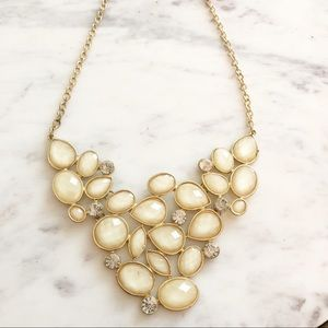 Jewelry - Neutral and Gold Statement Necklace